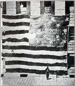First Known Photograph of the Star Spangled Banner