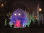 Holiday Fountain Show at Longwood Gardens